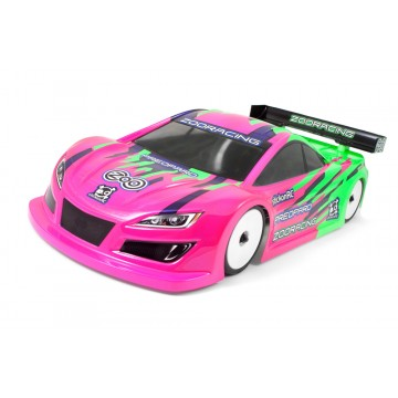 ZooRacing Preopard 1/10 Touring Car Bodyshell Lightweight 0.5mm