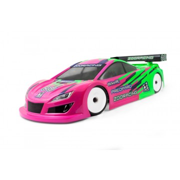 ZooRacing Preopard 1/10 Touring Car Bodyshell Standard 0.7mm