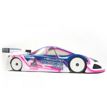 ZooRacing Hellcat 1/10 Touring Car Standard Bodyshell 0.7mm