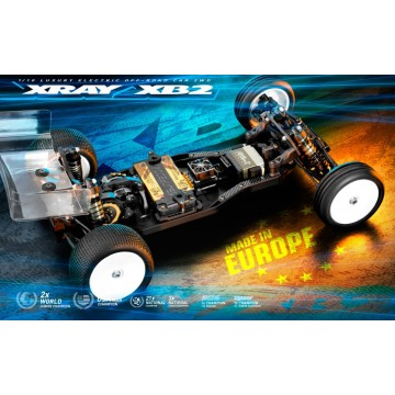 XRAY XB2C'21 - 2WD 1/10 ELECTRIC OFF-ROAD CAR - CARPET EDITION