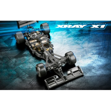 370706 Xray X1 2021 - 1/10 Formula Car Kit