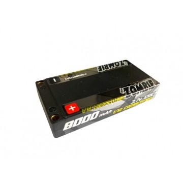 Team Zombie 8000mah 120C 1S 3.7V Lipo Battery
